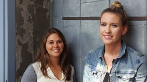 Our new hires, Nataili and Alison.