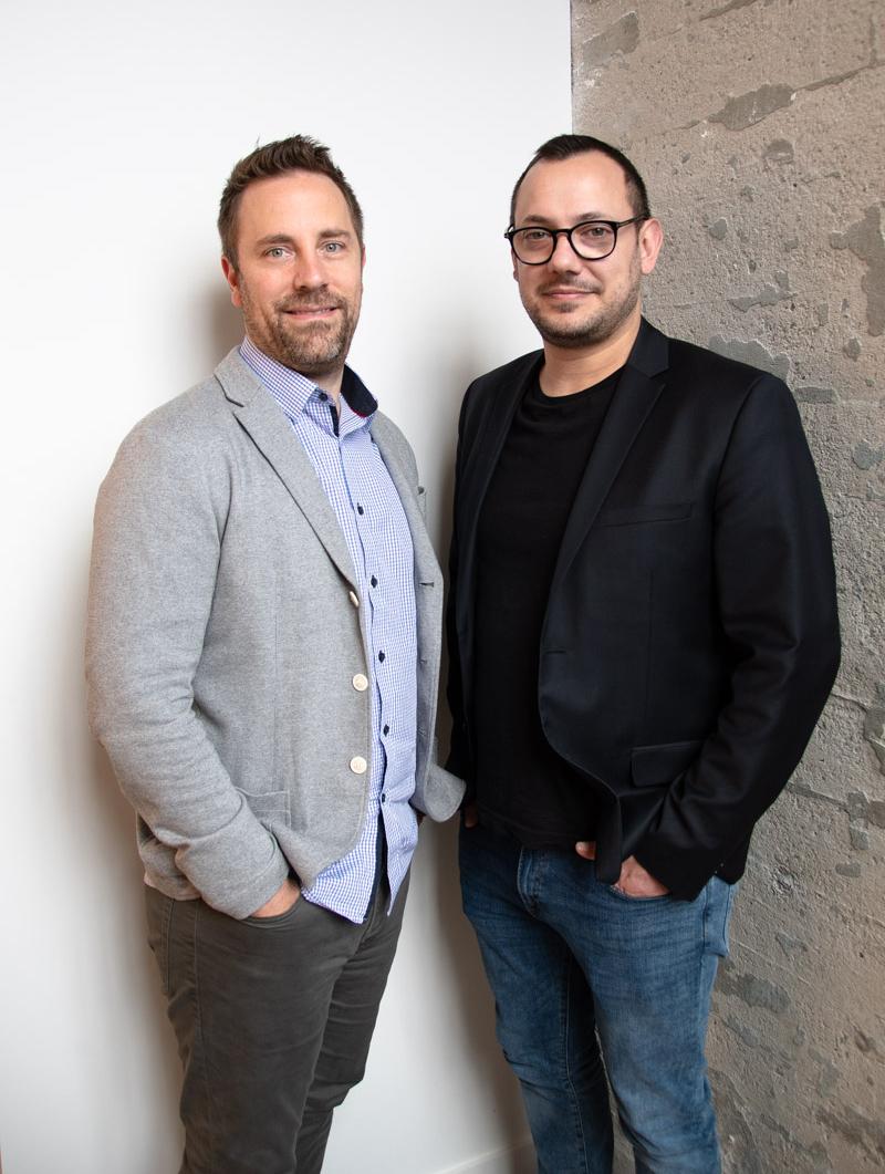 Photo of Ben Benchitrit and Stephen Loveless