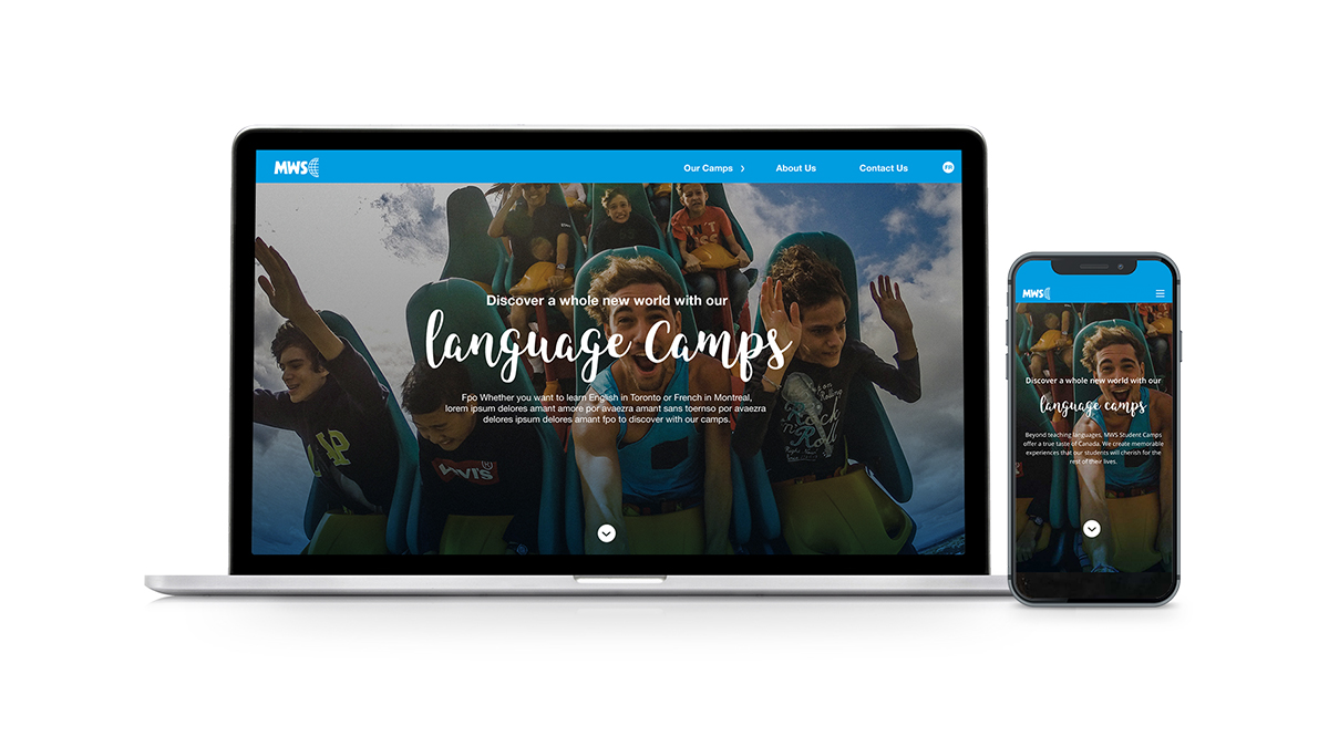 MWS's new website