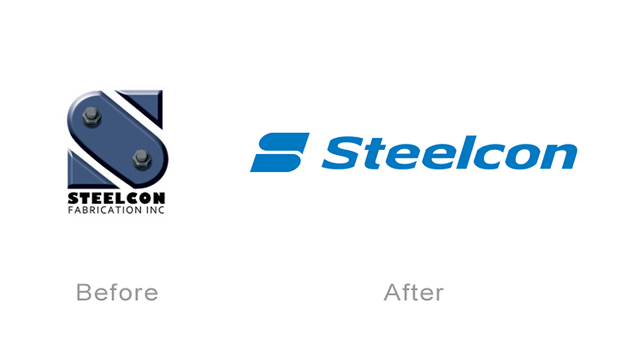 Steelcon logo redesign