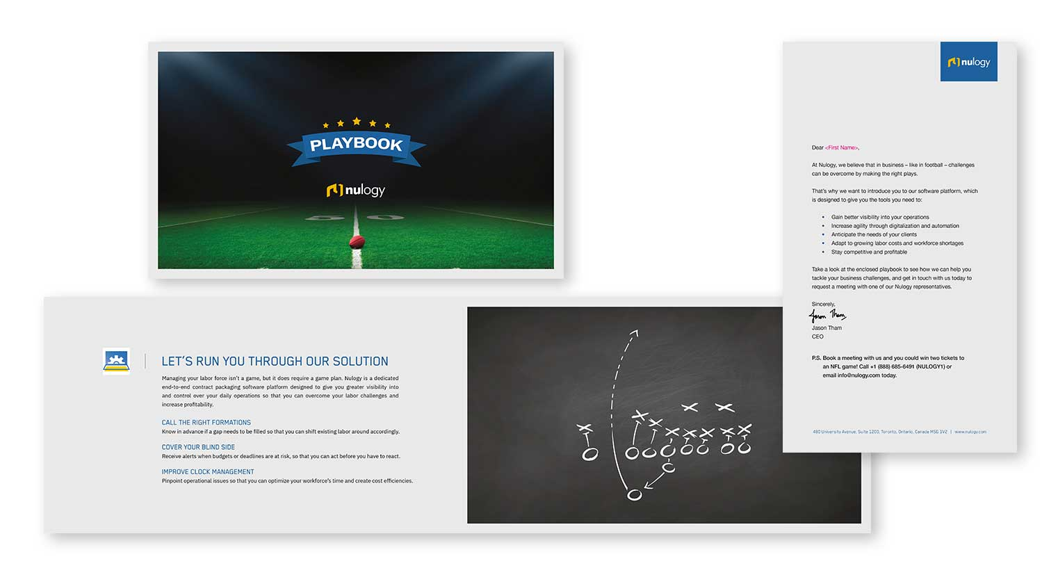 Nulogy Direct Mail Playbook