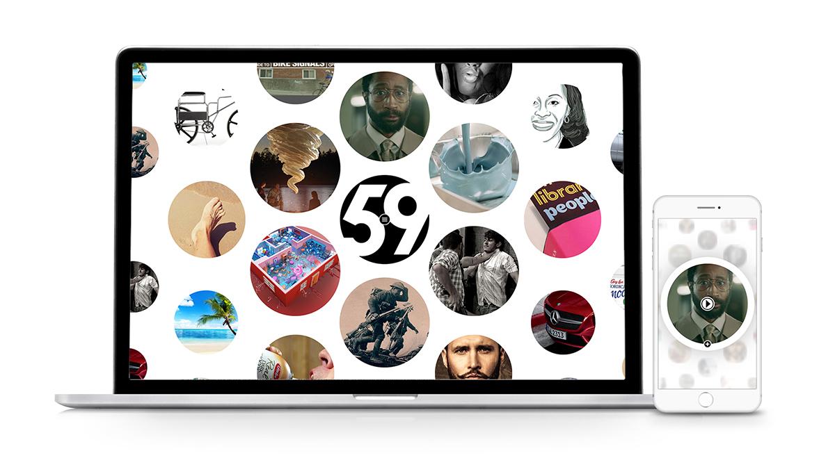 Agency59's new website