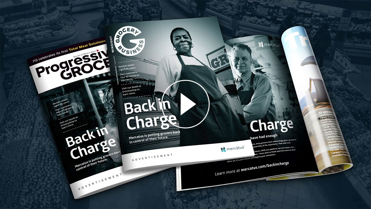 Mercatus: Back in Charge Video